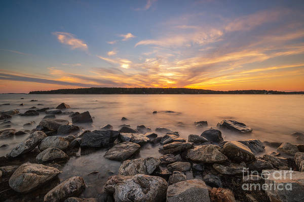 East Point Photograph - Marshall Point Sunset by Michael Ver Sprill