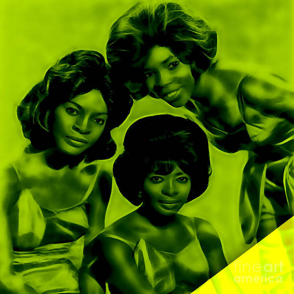 1972 Mixed Media - Martha And The Vandellas Collection by Marvin Blaine