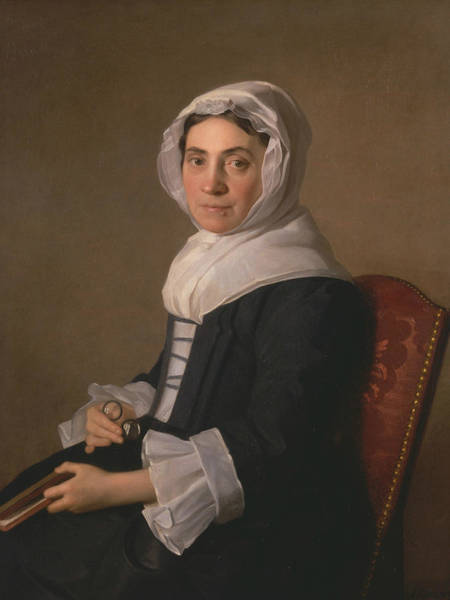 Painting - Mary Adam by Allan Ramsay