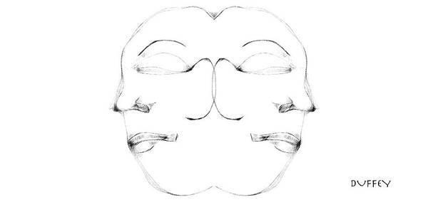 Digital Art - Mask 1 by Doug Duffey