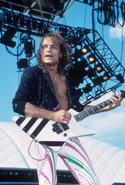 Photograph - Matthias Jabs by Rich Fuscia
