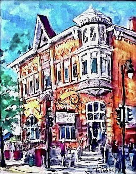 Painting - Maxwells by Les Leffingwell