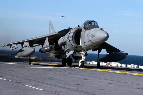 Transportation Digital Art - Mcdonnell Douglas Av-8b Harrier II by Super Lovely