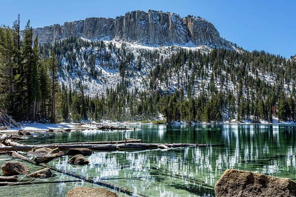 Turqoise Photograph - Mcleod Lake by Kelley King