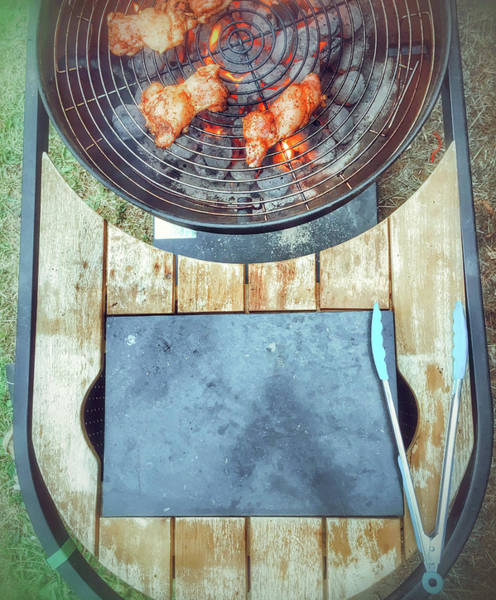 Barbecue Photograph - Meat On The Barbeque by Tom Gowanlock