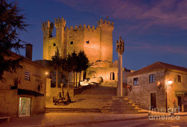 Pelourinho Photograph - Medieval Castle In Portugal by Mikehoward Photography