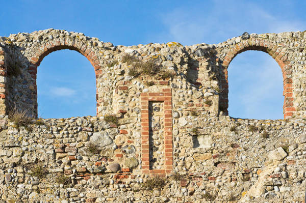 Wall Art - Photograph - Medieval Ruins by Tom Gowanlock