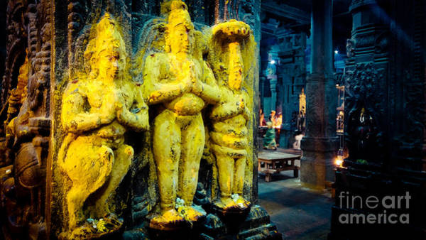 Meenakshi Temple Madurai India Art Print