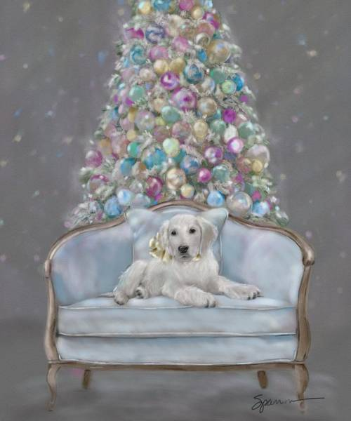 Wall Art - Painting - Merry And Bright by Mary Sparrow