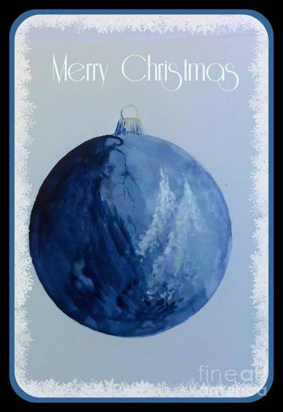 Painting - Merry Christmas by David Neace