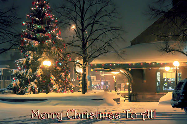 Photograph - Merry Christmas To All by Bonnie Follett