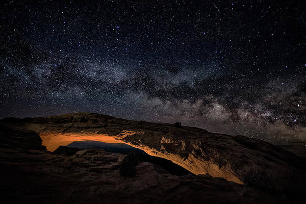 Wall Art - Photograph - Mesa Night by Robert Fawcett