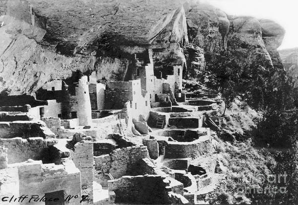 Photograph - Mesa Verde: Cliff Palace by Granger