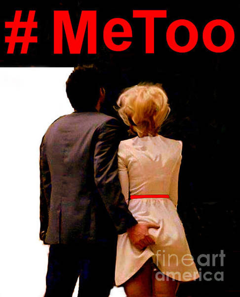 Digital Art - #metoo  by Rafael Salazar