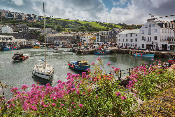 Photograph - Mevagissey Fishing Village, Cornwall by Maggie McCall