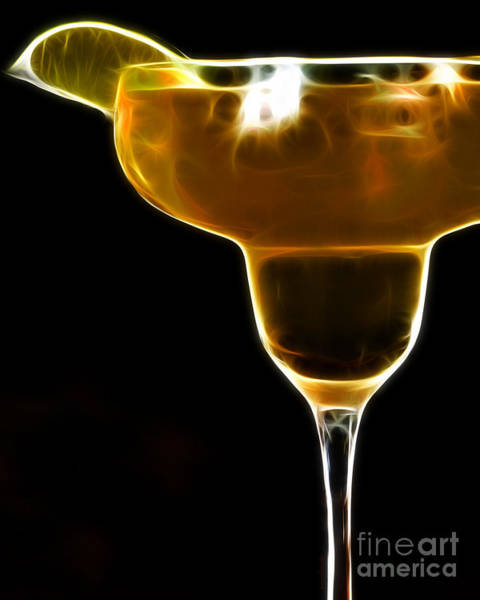 Photograph - Mexico Gold . Lime Margarita by Wingsdomain Art and Photography
