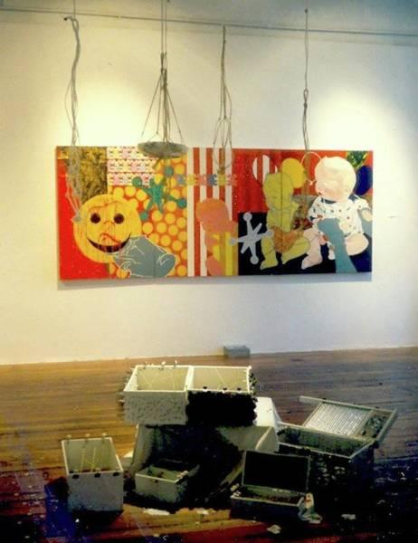 Photograph - Mfa Pratt Exhibition by Kasey Jones