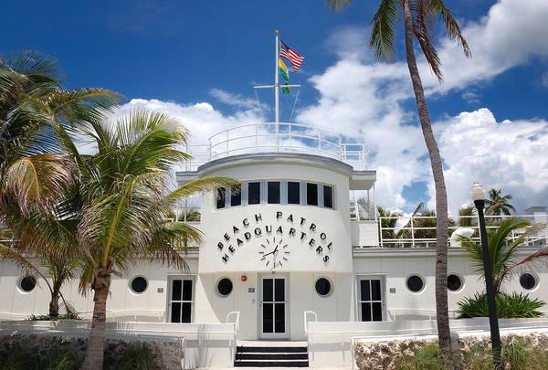 Photograph - Miami Beach Patrol Hq by Frank Mari