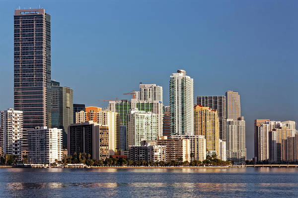 Photograph - Miami Skyline 2744 by Rudy Umans