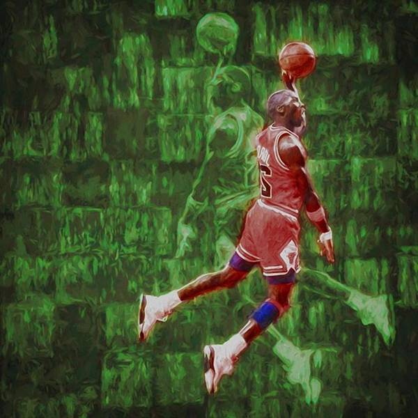 Wall Art - Photograph - Michael Jordan. Air Jordan. The by David Haskett II