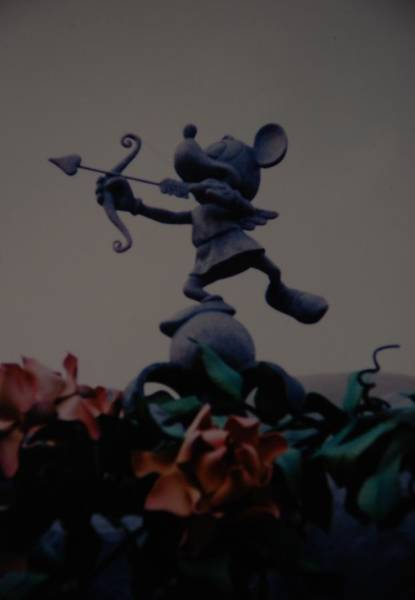 Walt Disney Word Photograph - Mickey Mouse by Rob Hans
