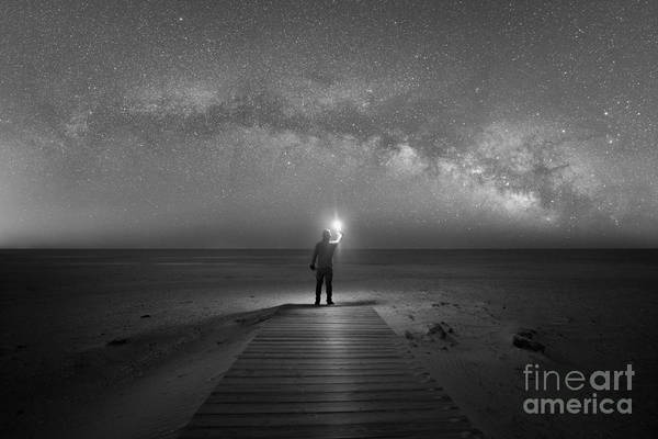 Photograph - Midnight Explorer At Assateague Island by Michael Ver Sprill