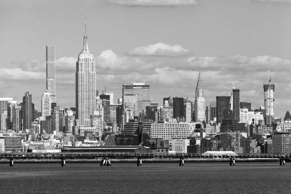 Holland Tunnel Wall Art - Photograph - Midtown Manhattan Skyline by Erin Cadigan