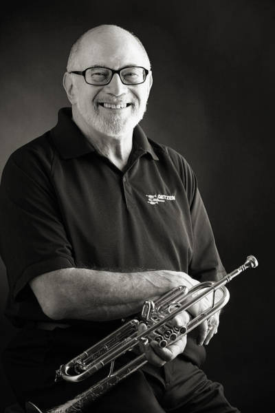 Photograph - Mike Vax Professional Trumpet Player Photographic Print 3771.02 by M K Miller
