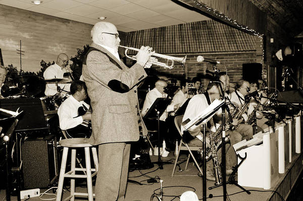 Photograph - Mike Vax Professional Trumpet Player Photographic Print 3772.02 by M K Miller