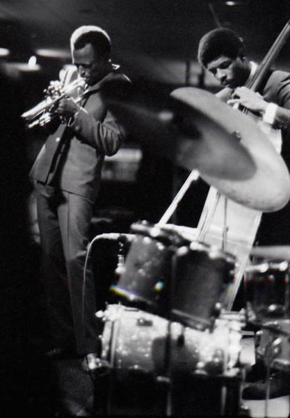 Wall Art - Photograph - Miles Davis Quintet At Penthouse by Dave Coleman