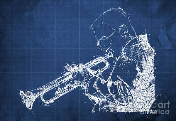 Wall Art - Drawing - Miles Davis by Drawspots Illustrations