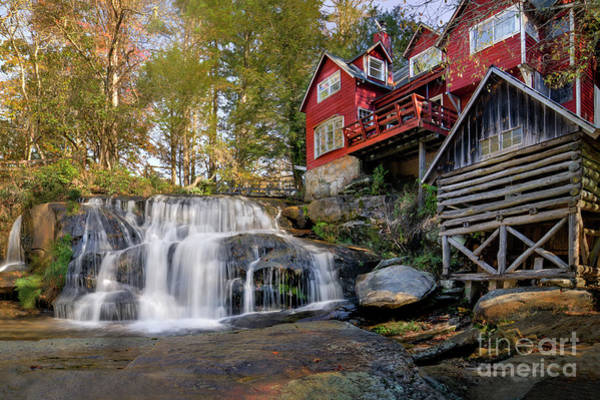 Mill Shoals Falls Wall Art - Photograph - Mill Shoals Falls by Michael Shake