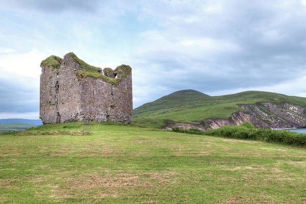 Dingle Peninsula Wall Art - Photograph - Minard Castle - Ireland by Joana Kruse
