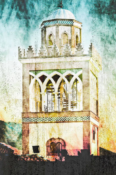 Andalusian Wall Art - Photograph - Minaret by Tom Gowanlock