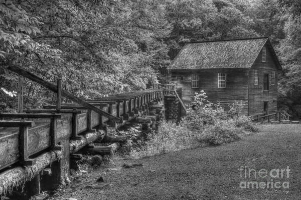 Mingus Mill Photograph - Mingus Mill 3 Mingus Creek Great Smoky Mountains Art by Reid Callaway