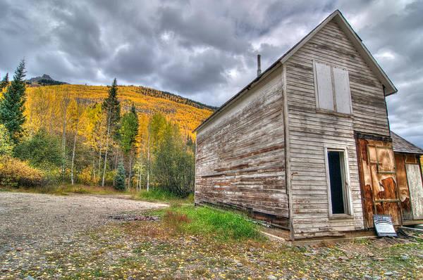 Photograph - Mining Shack by Steve Stuller