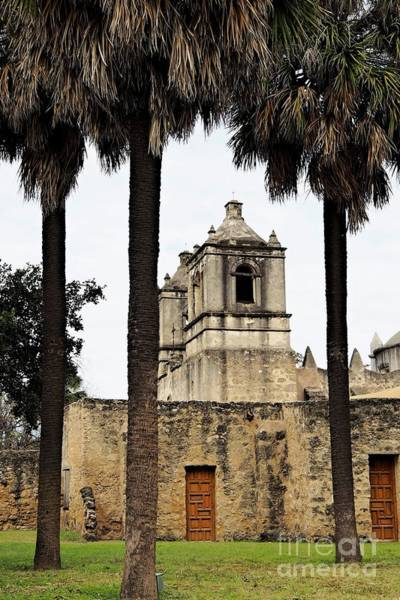 Misson Photograph - Mission Concepcion  by Gary Richards