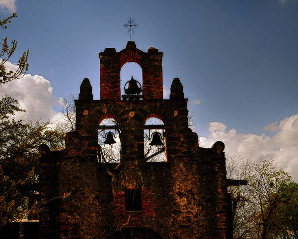 Mission San Francisco De La Espada Art Print
