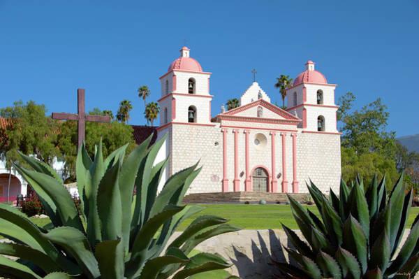 Wall Art - Photograph - Mission Santa Barbara by Barbara Snyder