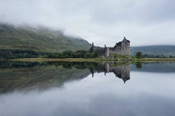 Mist At Kilchurn Art Print