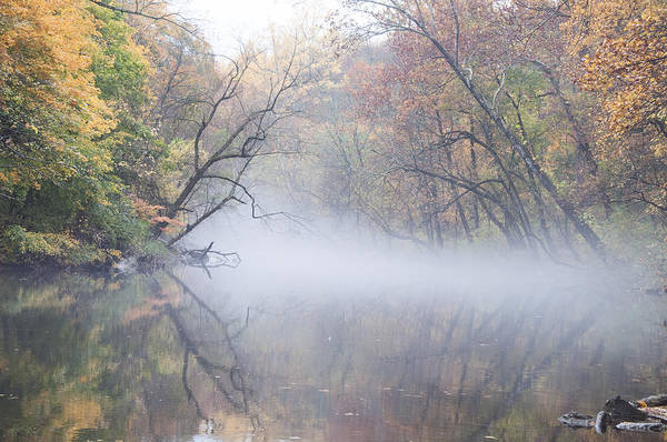 Philly Digital Art - Mist On The Wissahickon by Bill Cannon