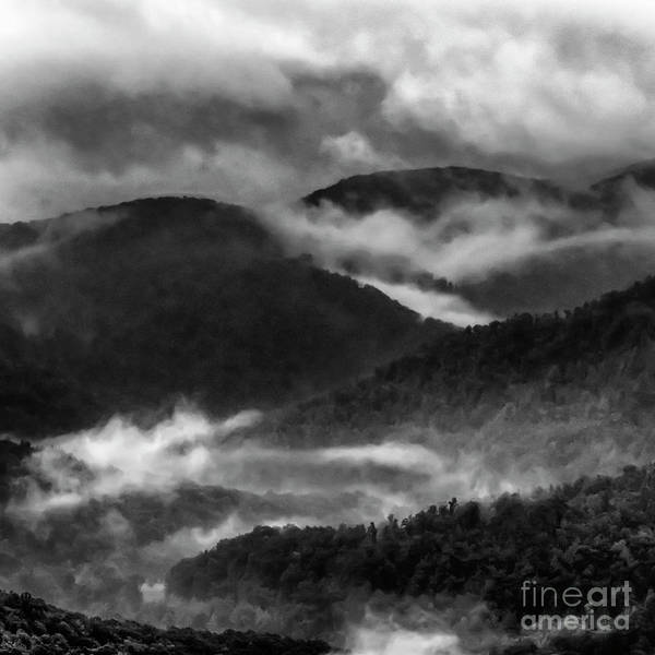 Photograph - Misty Mountains West Virginia by Thomas R Fletcher