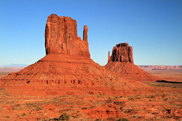 Photograph - Mittens In Monument Valley by Pierre Leclerc Photography