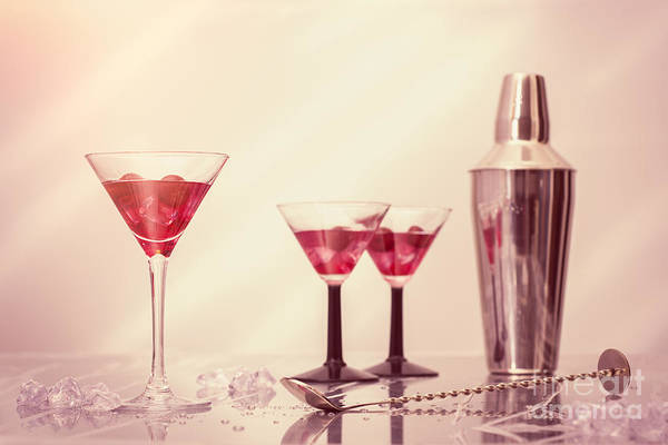 Cocktail Shaker Photograph - Mixing Cocktails by Amanda Elwell