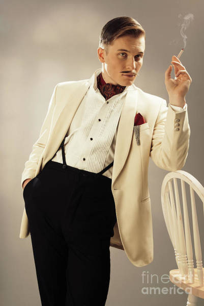 Cosplay Photograph - Model Playing Errol Flynn Character by Amanda Elwell