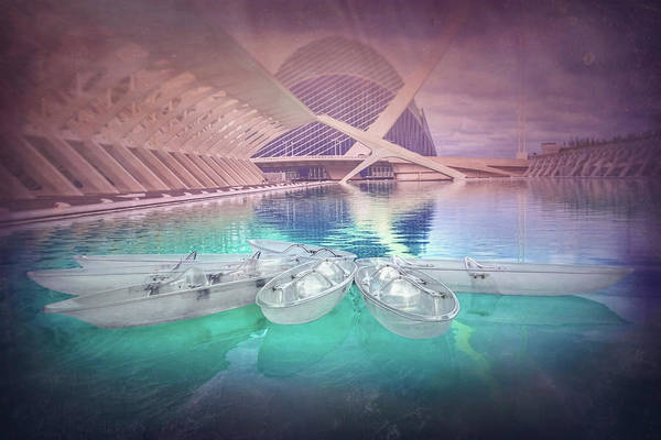 Wall Art - Photograph - Modern Architecture Valencia Spain  by Carol Japp