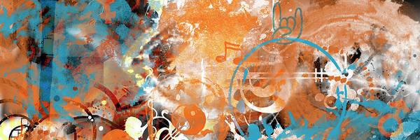 Wall Art - Digital Art - Modern Art Beyond Control by Melanie Viola