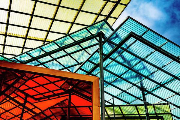 Photograph - Modern Roof by Mats Silvan