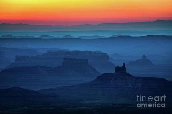 Southwestern United States Photograph - Moki Dugway Sunrise by Inge Johnsson