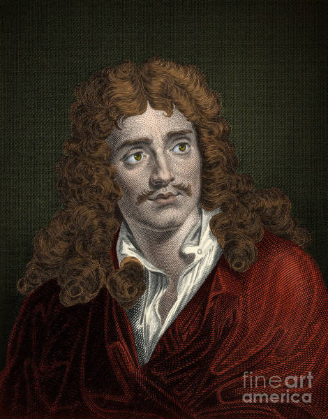 Arte Photograph - Moliere, French Playwright And Actor by Science Source
